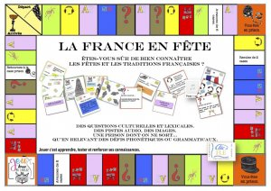 Coffret jeu LA FRANCE EN FETE - clic et fle - 2225614774262 -
