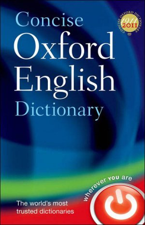 Concise Oxford English Dictionary 12th Ed. - oxford - 9780199601080 -