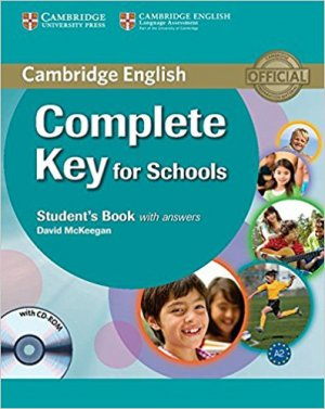Complete Key for Schools - Student's Book with Answers with CD-ROM - cambridge - 9780521124713 -