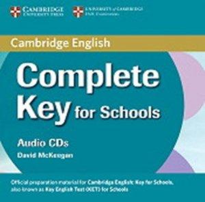 Complete Key for Schools - Class Audio CDs (2) - cambridge - 9780521124751 -