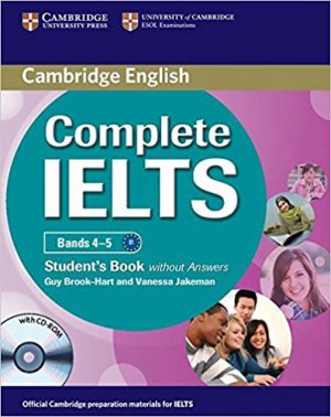 Complete IELTS Bands 4–5 - cambridge - 9780521179560 -