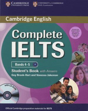 Complete IELTS Bands 4-5 - cambridge - 9780521179607 -