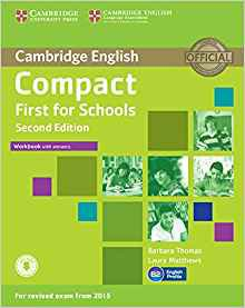 Compact First for Schools - Workbook with Answers with Audio - cambridge - 9781107415720 -