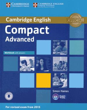 Compact Advanced - Workbook with Answers with Audio - cambridge - 9781107417908 -