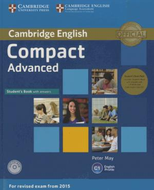 Compact Advanced - Student's Book Pack (Student's Book with Answers with CD-ROM and Class Audio CDs(2)) - cambridge - 9781107418196 -