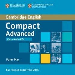 Compact Advanced Class - Audio CDs (2) - cambridge - 9781107418288