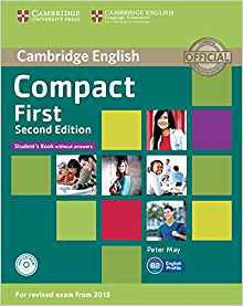 Compact First - Student's Book without Answers with CD-ROM - cambridge - 9781107428423 -
