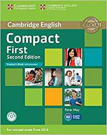 Compact First - Student's Book with Answers with CD-ROM - cambridge - 9781107428447 -