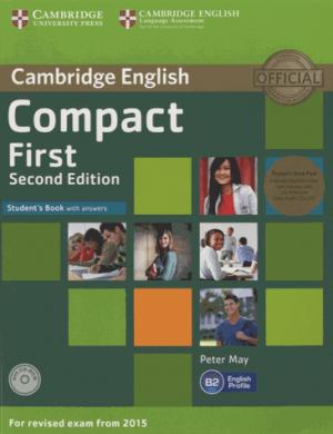 Compact First Student's Book Pack (Student's Book with Answers with CD-ROM and Class Audio CDs(2)) - cambridge - 9781107428454 -