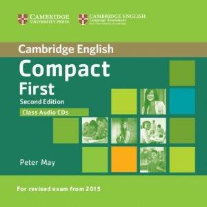 Compact First - Class Audio CDs (2) - cambridge - 9781107428522 -
