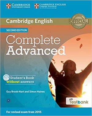 Complete Advanced - Student's Book without Answers with CD-ROM with Testbank - cambridge - 9781107501317 -