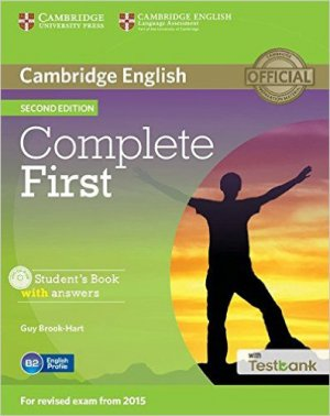 Complete First - Student's Book with Answers with CD-ROM with Testbank - cambridge - 9781107501805 -