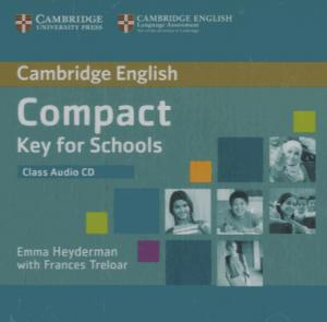 Compact Key for Schools - Class Audio CD - cambridge - 9781107618688 -