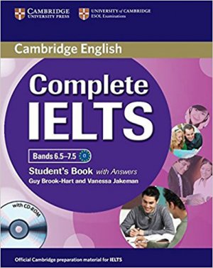Complete IELTS Bands 6.5–7.5 - Student's Book with Answers with CD-ROM - cambridge - 9781107625082 -