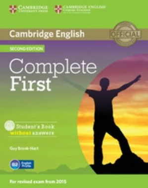 Complete First Student's - Book without Answers with CD-ROM - cambridge - 9781107633902 -