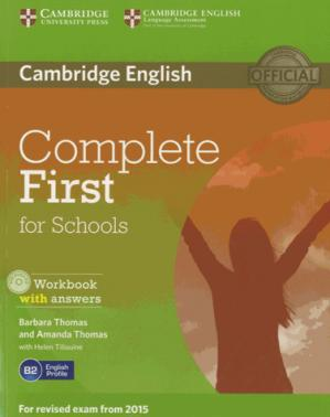 Complete First for Schools - Workbook with Answers with Audio CD - cambridge - 9781107656345 -