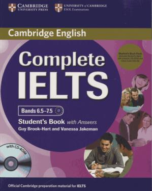 Complete IELTS Bands 6.5-7.5 - Student's Pack (Student's Book with Answers with CD-ROM and Class Audio CDs (2)) - cambridge - 9781107688636 -