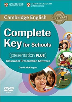 Complete Key for Schools - Presentation Plus DVD-ROM - cambridge - 9781107697942