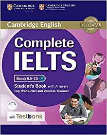 Complete IELTS Bands 6.5–7.5 - Student's Book with answers with CD-ROM with Testbank - cambridge - 9781316602041 -