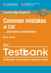 Common Mistakes at CAE… and How to Avoid Them - Paperback with Testbank - cambridge - 9781316629321 -