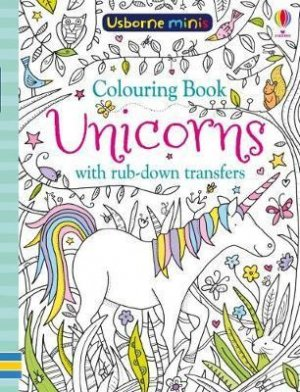 COLOURING BOOK UNICORNS  - usborne - 9781474947633 -