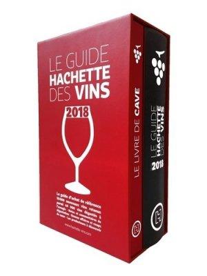 Coffret Guide Hachette des vins 2018 + livre de cave-hachette -9782013919135