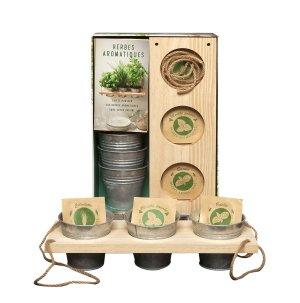 Coffret Herbes aromatiques - hachette - 9782013968324 -