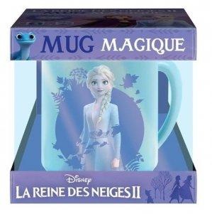 Coffret mug magique La Reine des Neiges II. L'histoire du film avec 1 mug magique - Hachette - 9782014011111 -