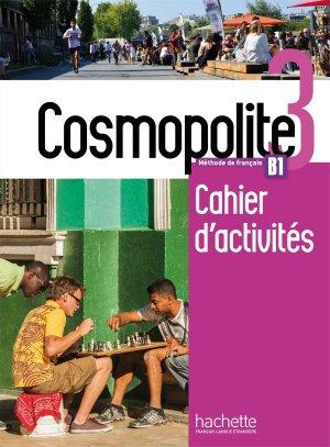 Cosmopolite 3 - Cahier d'activités + CD audio - hachette français langue etrangère - 9782015135489 -
