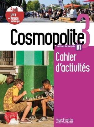 Cosmopolite 3 - Pack Cahier + Version numérique - Hachette Français Langue Etrangère - 9782017133698 -