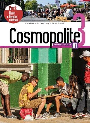 Cosmopolite 3 - Pack Livre + Version numérique - Hachette Français Langue Etrangère - 9782017133704 -
