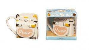 Coffret Cookie Chat. Mug Cookie Chat avec 1 mug chat - Hachette - 9782017864004 -