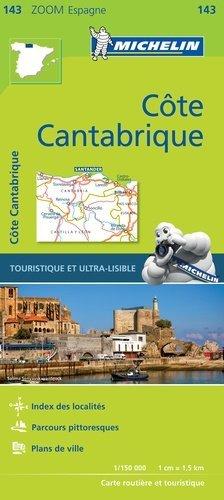 Côte Cantabrique. 1/150 000 - michelin - 9782067218062 -
