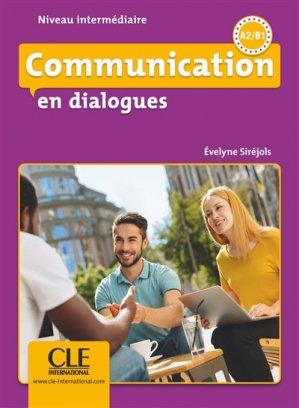Communication en dialogues Niveau intermédiaire A2/B1 - Nathan - 9782090380637 -