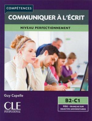 Communiquer à l'écrit niveau perfectionnement B2-C1 - Nathan - 9782090381900 -