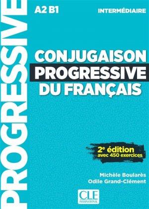 Conjugaison progressive du français intermédiaire - nathan - 9782090382150 -