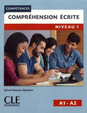 Compréhension écrite niveau 1 A1-A2 - nathan - 9782090382761 -