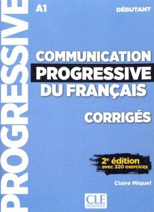 Communication progressive du français débutant A1 - cle international - 9782090384468 -