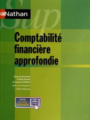 Comptabilité financière approfondie - Nathan - 9782091620749 -