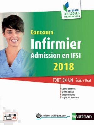 Concours infirmier - Admission en IFSI 2018-nathan-9782091649924