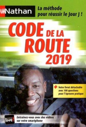 Code de la route 2019 - nathan - 9782091652085 -