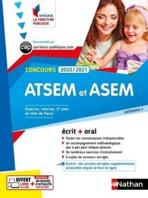 Concours ATSEM et ASEM écrit + oral Catégorie C - nathan - 9782091670218 -