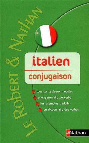 CONJUGAISON ITALIEN  - NATHAN - 9782091844749 -