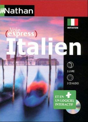 COFFRET ITALIEN INITIATION NIVEAU ATTEINT A  - NATHAN - 9782098118065 -