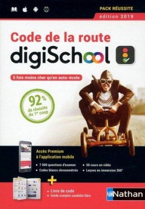 Code de la route . Livre en ligne, Edition 2019 - Nathan - 9782098118782 -