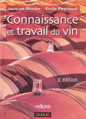 Connaissance et travail du vin - dunod - 9782100035236 -