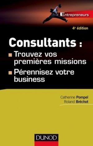Consultants - Dunod - 9782100725977 -