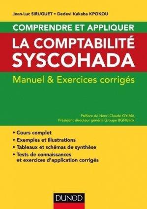 Comprendre et appliquer la comptablité Syscohada - Dunod - 9782100737956 -