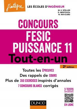 Concours FESIC Puissance 11 - dunod - 9782100753741 -