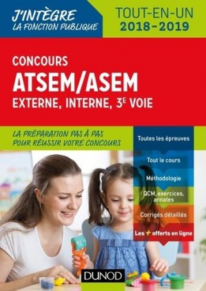 Concours ATSEM/ASEM - dunod - 9782100777891 -